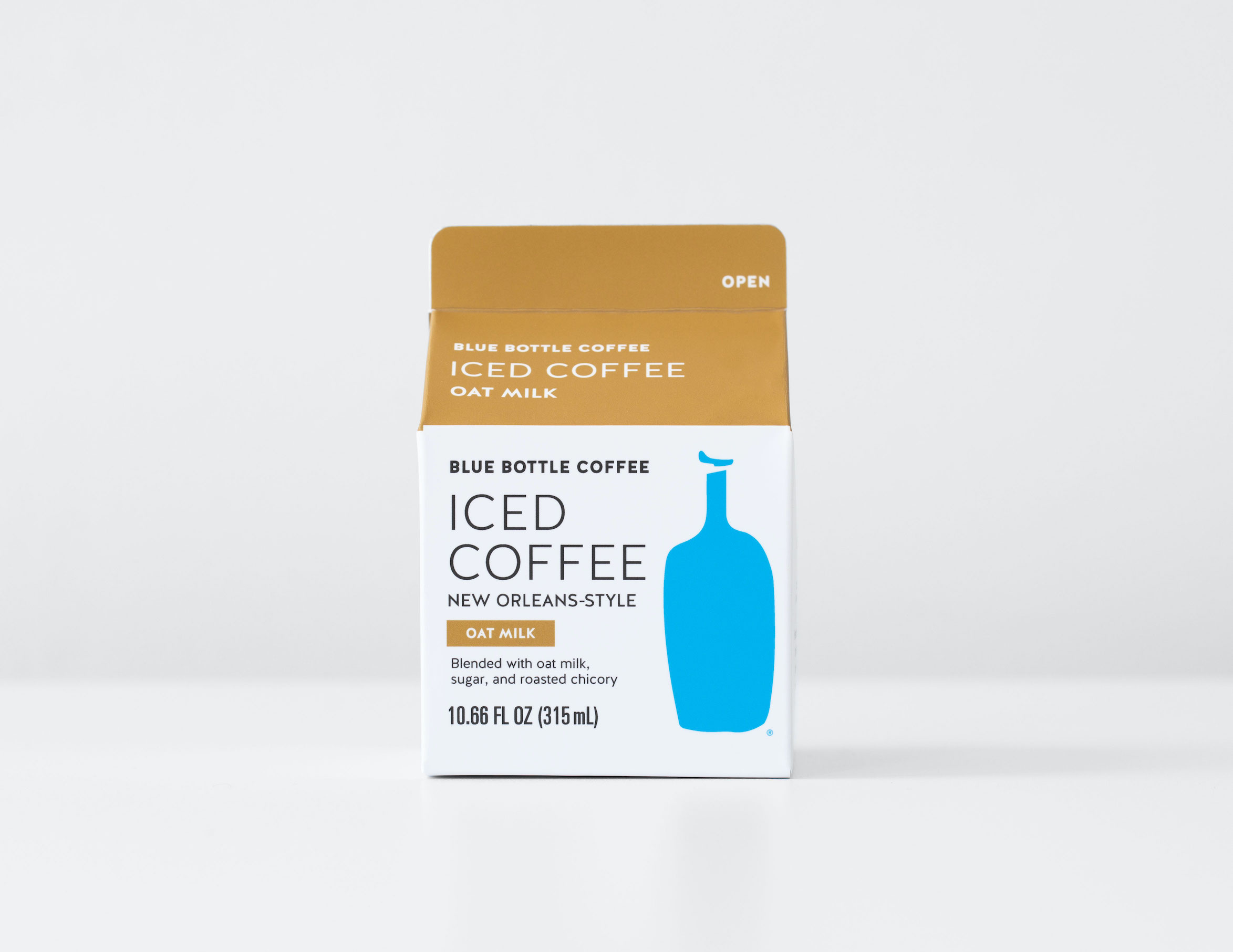 New orleans style oat milk iced coffee